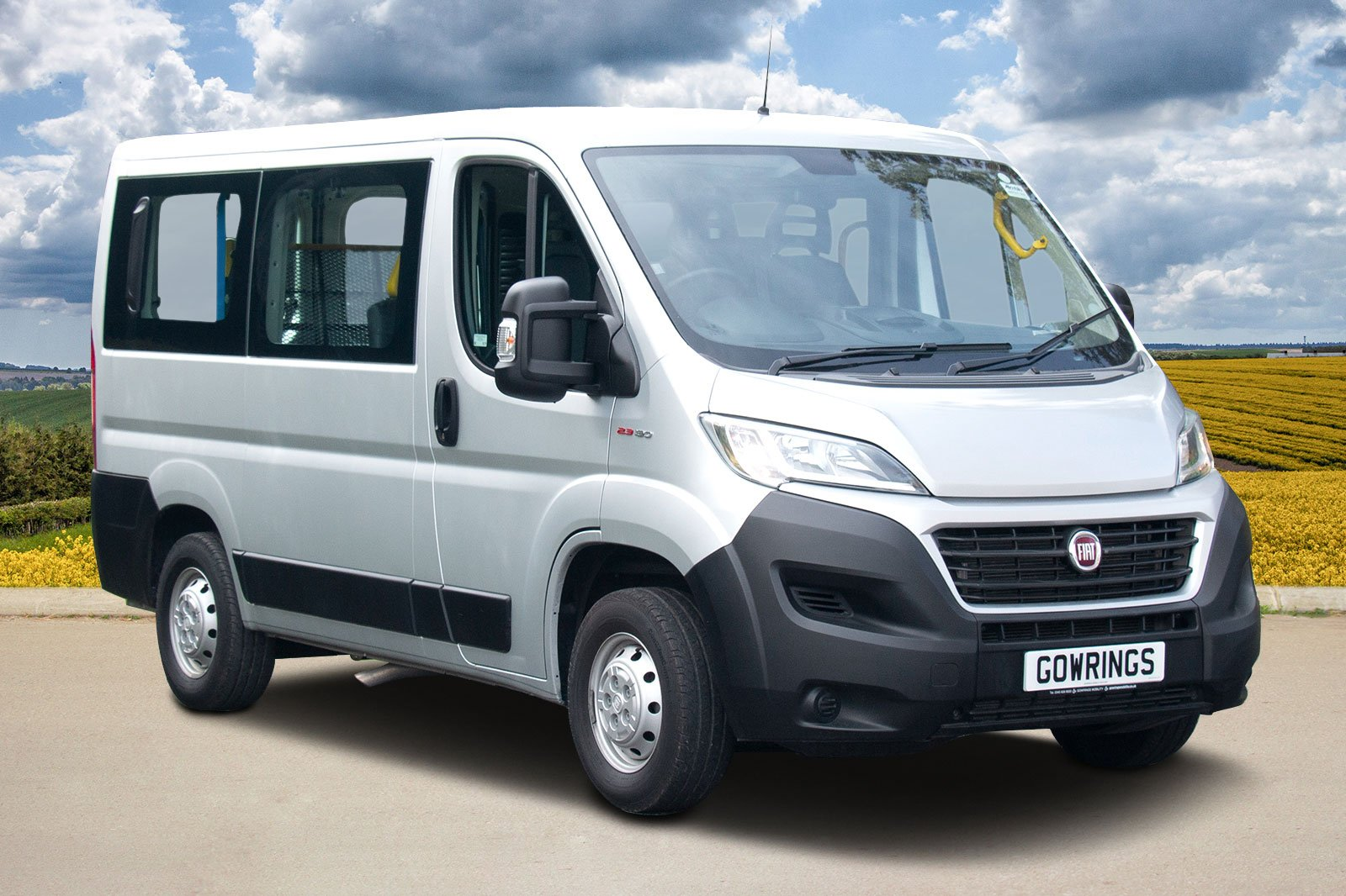 The Renault Master in the countryside